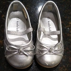 Silver Koala Kids flats toddler
